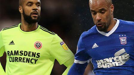 David McGoldrick returns to Portman Road with Sheffield United this weekend. Picture: PA