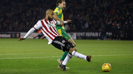 David McGoldrick has scored six goals in 17 starts and five substitute appearances for Sheffield Uni