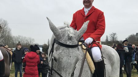 Hunt organiser James Buckle spoke before the hunt, thanking the team that have helped put the event