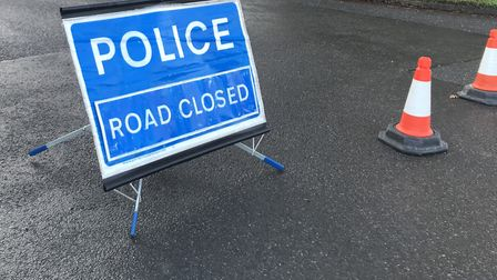 The road was closed while emergency services worked at the scene (stock photo). Picture: NEIL DIDSBU