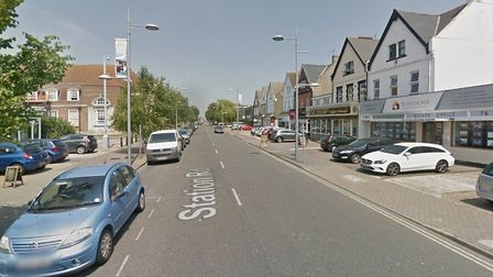 Police have begun a murder investigation after a man died in Clacton Picture: GOOGLE MAPS