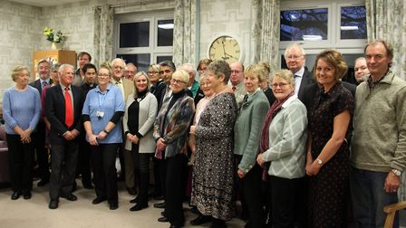 Representatives from 22 organisations at the Working Together Awards Ceremony in the Aspire Centre,