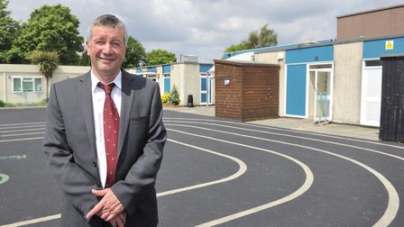Market Field School headteacher Gary Smith has been made an OBE Picture: SU ANDERSON