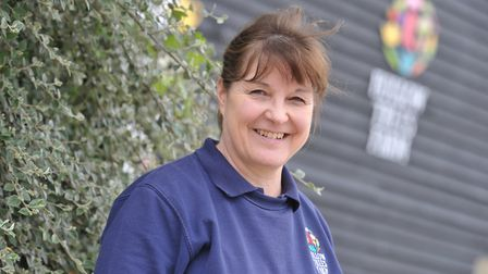 Sally Bendall, owner of Hollow Trees Farm in Semer, Suffolk, will receive a BEM Picture: SARAH LUCY