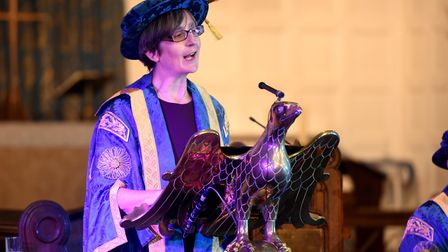 University of Suffolk chancellor Dr Helen Pankhurst has been made a CBE. Picture: UNIVERSITY OF SUFF