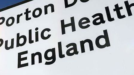 Public Health England. Stock image. Picture: ANDREW MATTHEWS/PA WIRE