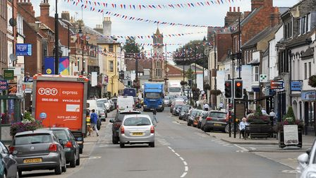Views are being sought on plans to revamp Newmarket's High Street Picture: PHIL MORLEY