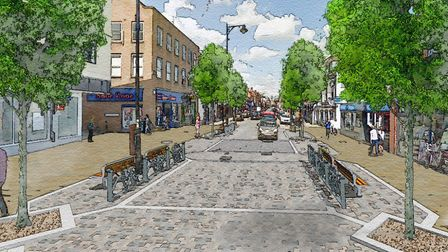 Views are being sought on plans to revamp Newmarket's High Street Picture: NEWMARKET VISION GROUP