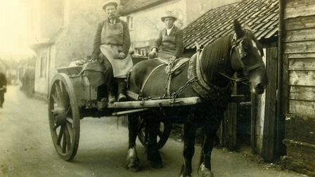 A scene from Hadleigh�s past Picture: HADLEIGH ARCHIVE