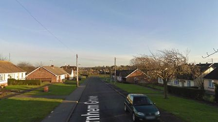 Arnhem Grove in Braintree, where the 25-year-old tried to evade police Picture: GOOGLE MAPS