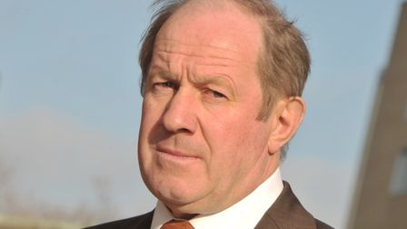 Tim Passmore, police and crime commissioner for Suffolk Picture: SARAH LUCY BROWN