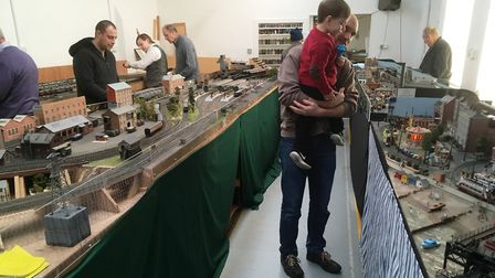 Ipswich Railway Modellers' Association open day is one of the fun free events this January. Picture: