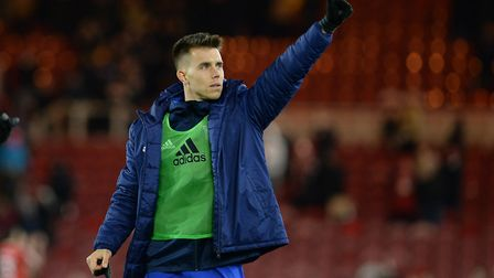 Jonas Knudsen may have played his last game for Ipswich Town. Photo: Pagepix