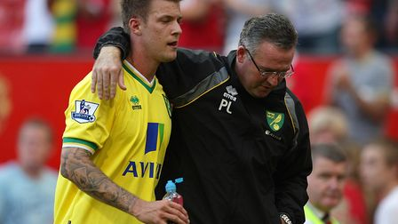 Paul Lambert has previously signed Pilkington for Norwich. Picture: ARCHANT