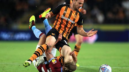 Ipswich Town are interested in signing Will Keane of Hull City. Picture: PA