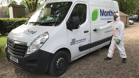 East Anglian contract cleaning company had a successful year in 2018. A Monthind vehicle with a B