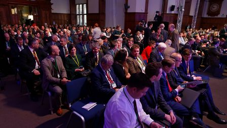 Delegates at the Oxford Farming Conference 2019 Picture: OXFORD FARMING CONFERENCE