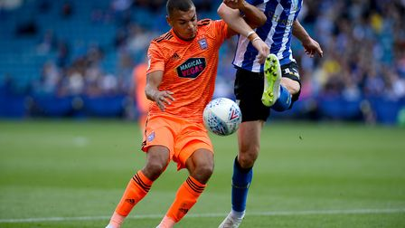His first Championship start came at Sheffield Wednesday. Picture Pagepix