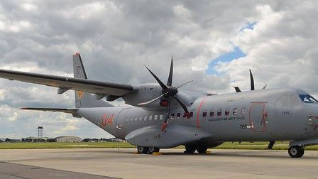 Casa C295 at RAF Mildenhall Picture: CONTRIBUTED
