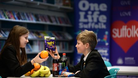 The Suffolk Sugar Reduction Fund is launched at Ormiston Sudbury Academy. Picture: PAGEPIX