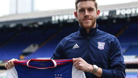New Leicester City laonee Callum Elder could make his Town debut. Photo: ITFC