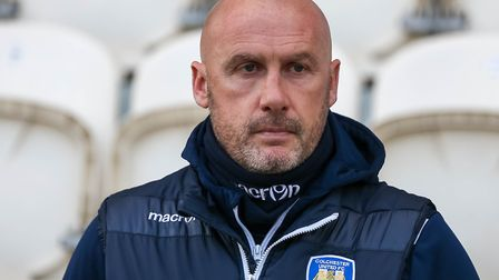 Colchester United boss John McGreal will try to get the better of Notts County. Picture: STEVE WALL