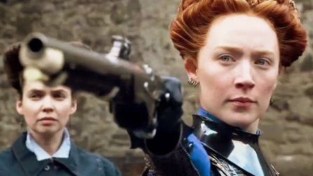Saoirse Ronan stars as Mary Queen of Scots in the epic historical drama Picture: UNIVERSAL