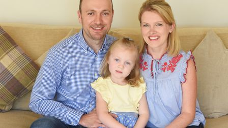 Parents want to thank Barking Pre-School staff who saved daughter's life after she suffered a cardia