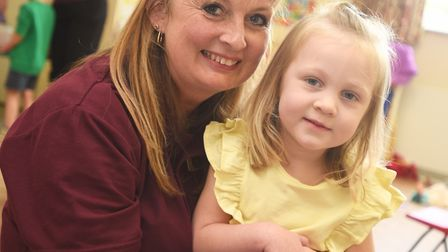 Barking Pre-School manager Shelley Symonds and Annabel Brightwell Picture: GREGG BROWN