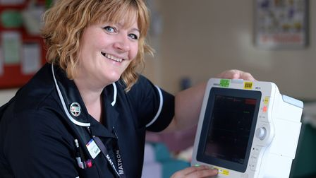 Sarah Smith, Head of Nursing for Women's and Children's services, based at Ipswich and Colchester Ho