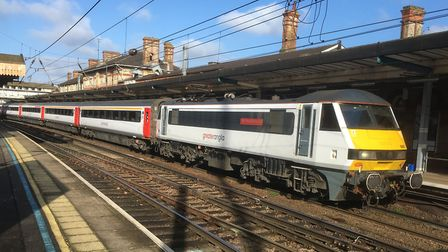 Trains could be delayed or cancelled as a result of the broken down train. Picture: PAUL GEATER (lib