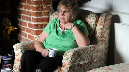 Pam Whomes, of Finningham, says her son Jack did not commit the 'Essex Boys' murders Picture: SU AND