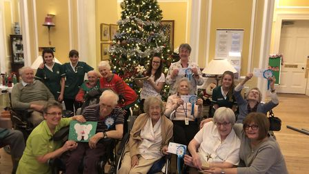 Stow Healthcare Christmas competitions winner, Stowlangtoft Hall