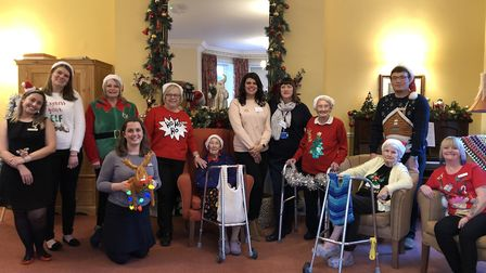 Stow Healthcare group Christmas competitions, Stow in the Snow