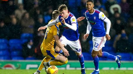 Jack Lankester could return to the Ipswich Town team today. Photo: Steve Waller