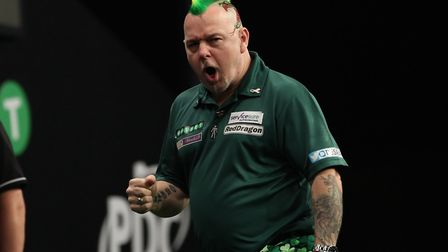 Suffolk's Peter Wright, part of a huge resurgence in darts. Picture: LAWRENCE LUSTIG