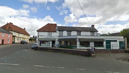 Molly's Convenience Store in Hadleigh has been hit by burglars Picture: GOOGLE MAPS