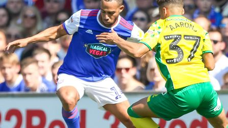 Jordan Graham is no longer at Ipswich Town and is training with Oxford. Picture: STEVE WALLER