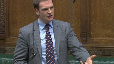 Dr Dan Poulter speaking in the House of Commons. Picture: LIBRARY