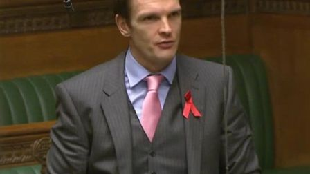 Dr Dan Poulter speaking in the House of Commons