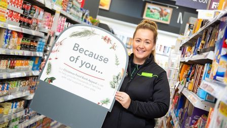 Central England Co-operative colleague Sheena Lee is celebrating after over 75,000 items were donate