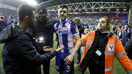 Elder helped Wigan knock Manchester City out of last season's FA Cup. Picture: PA