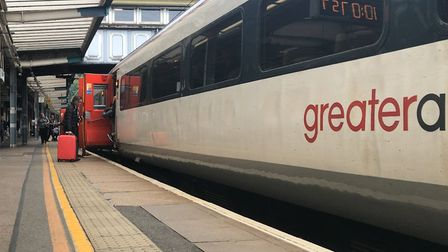 Trains to London were delayed after a tragedy on the line.