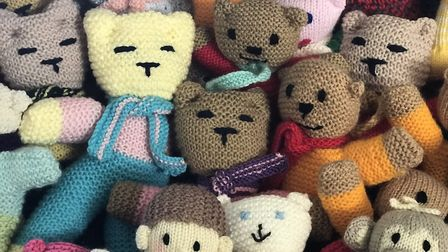 The teddies help our emergency services connect with a child in a moment of crisis. Picture: Neil Di