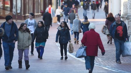 Boxing Day sales bringing out shoppers in Ipswich. But should so many shops open? Picture: GREGG BRO