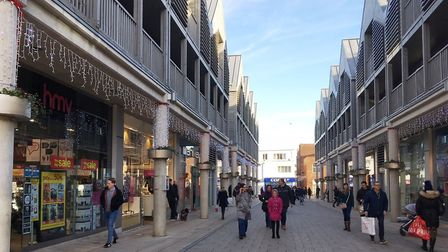 Boxing Day sales in Bury St Edmunds. Picture: EMMA BRENNAN