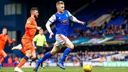 Chambers believes Flynn Downes has been Ipswich's best player this season. Picture: STEVE WALLER