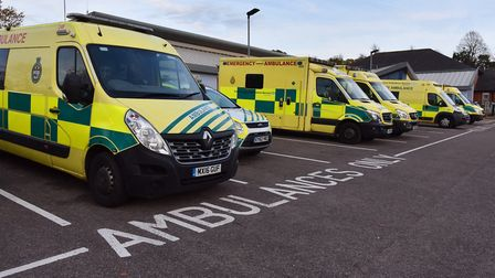 The East of England Ambulance Service have a plan in place to tackle a busy winter Picture: SONYA DU