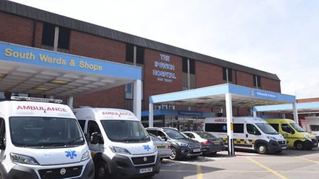 Ipswich Hospital bosses said demand is up Picture: ARCHANT