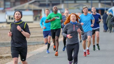 Many runners opted to do a double parkrun and took part in two events Picture: SIMON HOWLETT
